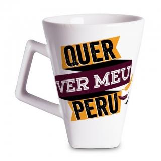 Caneca Quartier Peru 350ml - Vaca Design