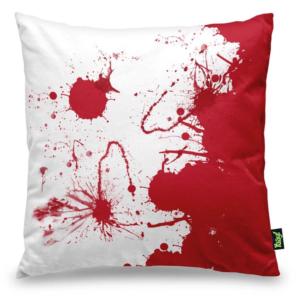 Almofada Decorativa Blood 40x40 - Yaay - Bakar-Bakar