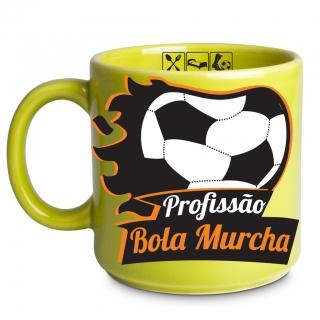 Caneca Bola Murcha 300ml com chaveiro - Vaca Design