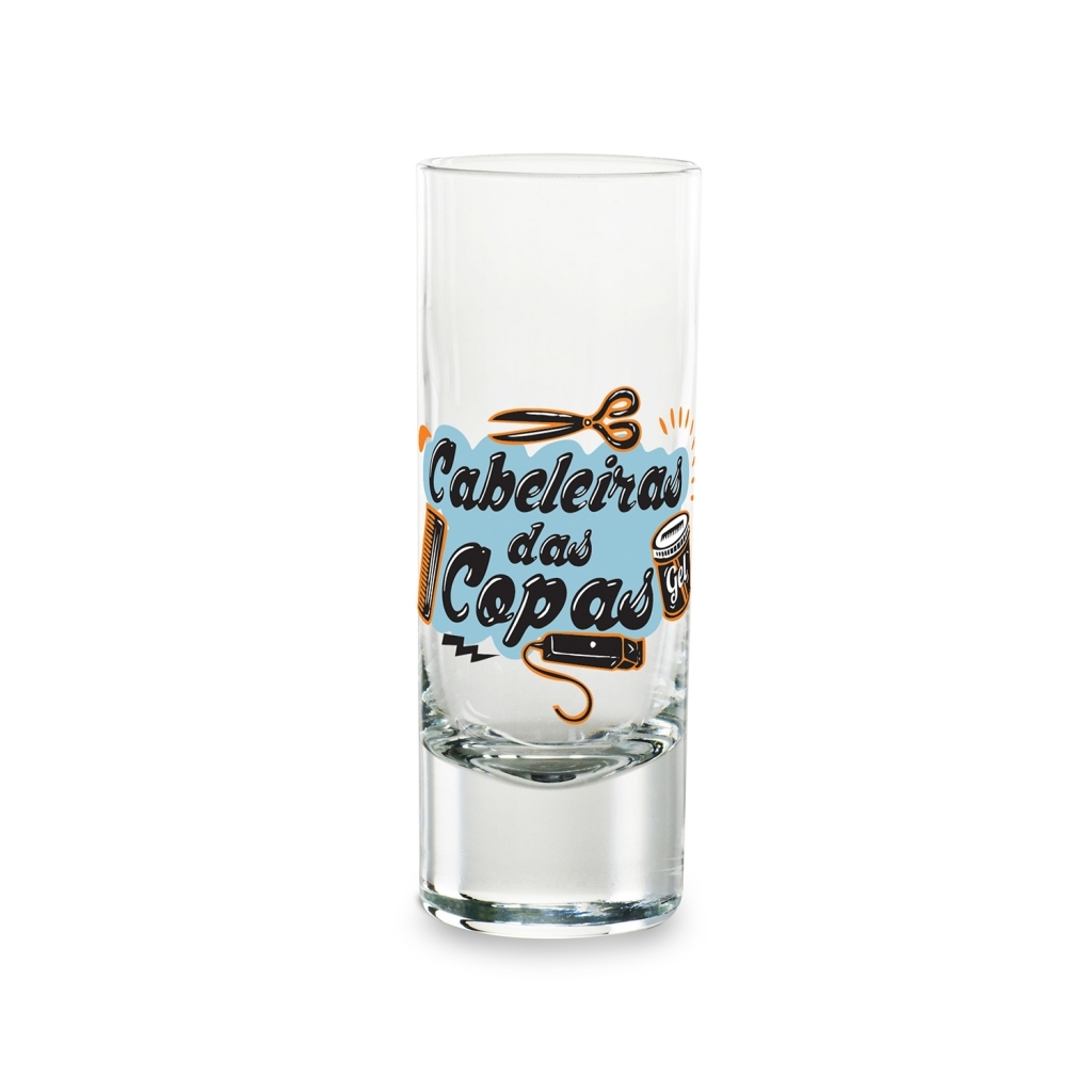 Copo de Tequila Cabeleiras Valderrama - Vaca Design - Bakar-Bakar