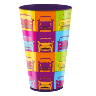 Copo Fun Front Pop Roxo 550ml - Kathavento