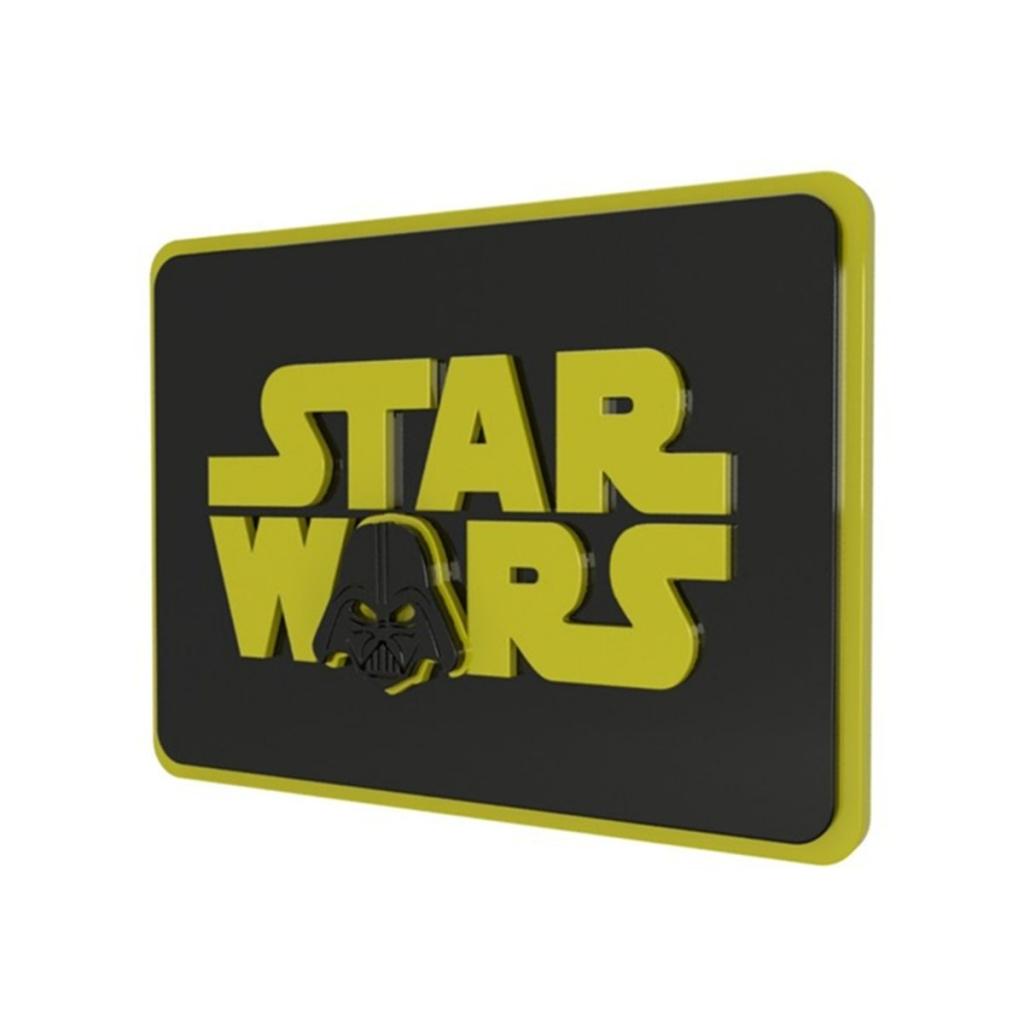 Quadro 3D Geek Star Wars - Geton Concept - Bakar-Bakar