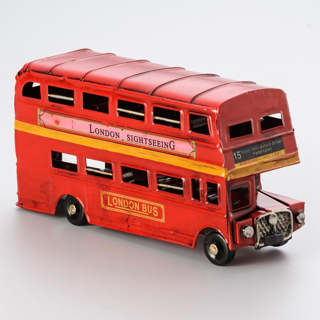 Miniatura London Bus - Rojemac - Bakar-Bakar