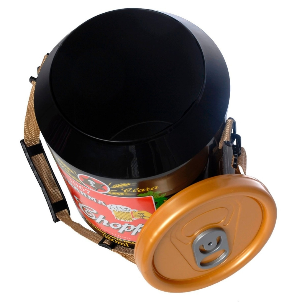 Cooler 24 Latas Cerveja Brahma 1967 - Doctor Cooler - Bakar-Bakar