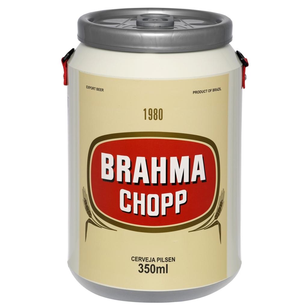 Cooler 24 Latas Cerveja Brahma 1980 - Doctor Cooler - Bakar-Bakar
