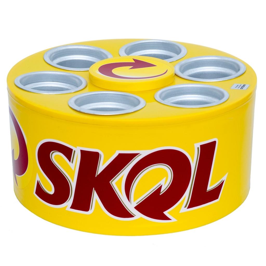 Cooler 3G Cerveja Skol - Doctor Cooler - Bakar-Bakar