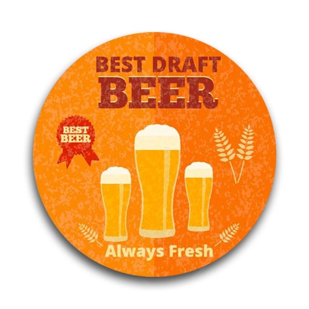 Porta Copos em MDF Best Draft Beer - Tecnolaser - Bakar-Bakar