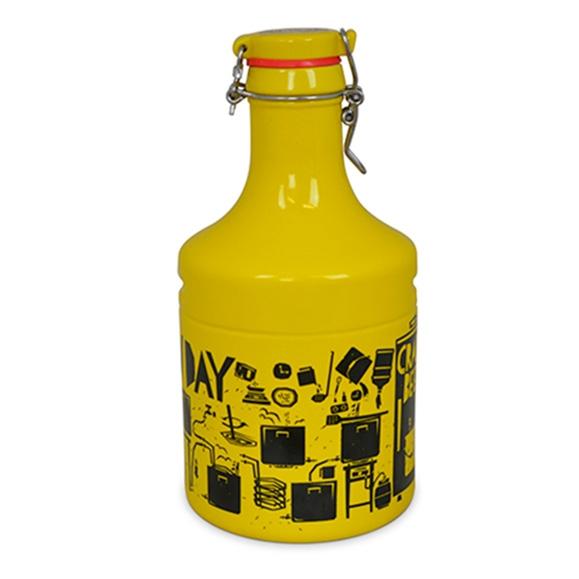 Growler Steel IPA Amarelo 2L - Mondoceram - Bakar-Bakar