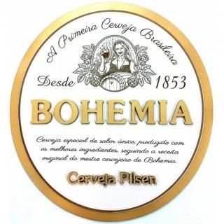 Quadro de Bebidas 3D Cerveja Bohemia - Geton Concept