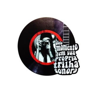 Porta Retrato Disco De Vinil Trilha Sonora - Kathavento