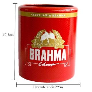 Porta Latas Brahma em Alumínio - Doctor Cooler