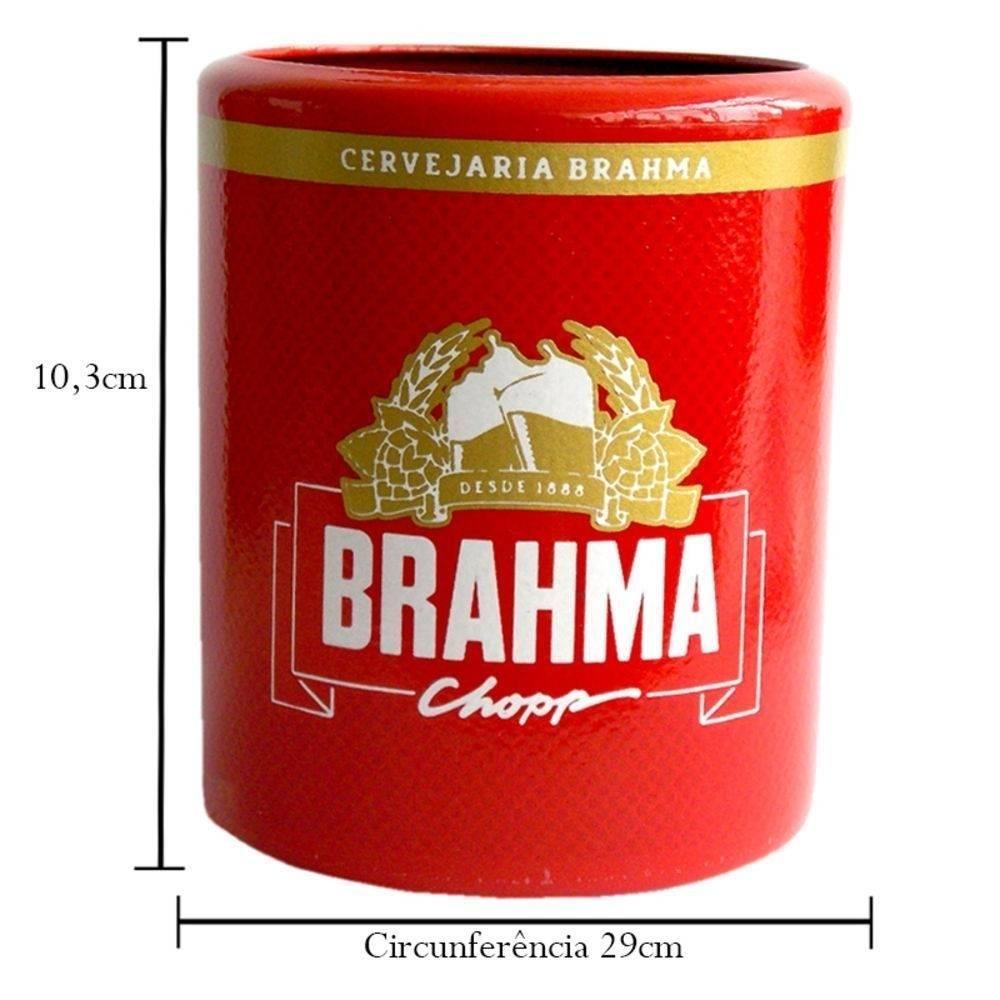 Porta Latas Brahma em Alumínio - Doctor Cooler - Bakar-Bakar