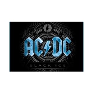 Placa Decorativa em MDF AC/DC Black Ice  20X28cm