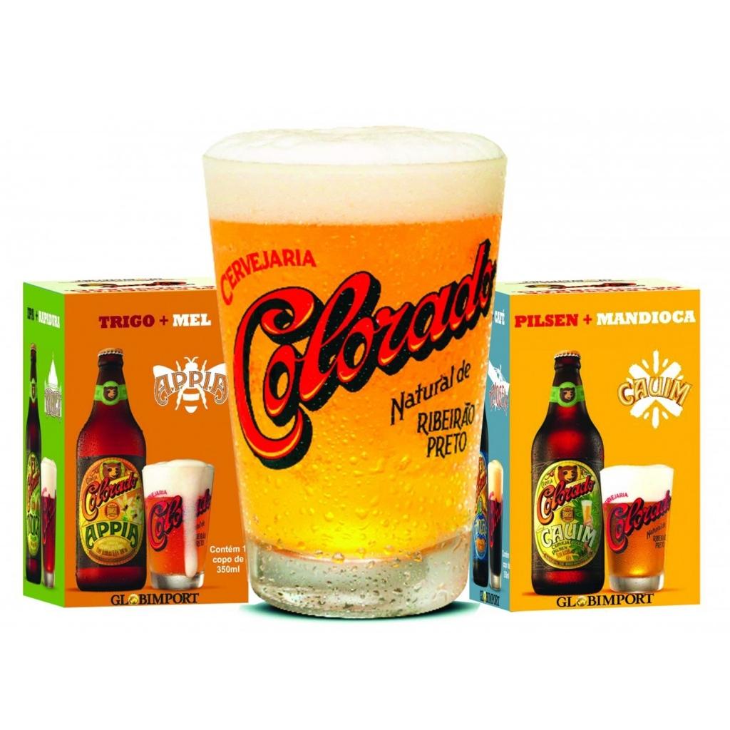 Copo Cerveja Colorado 350ml - Bakar-Bakar