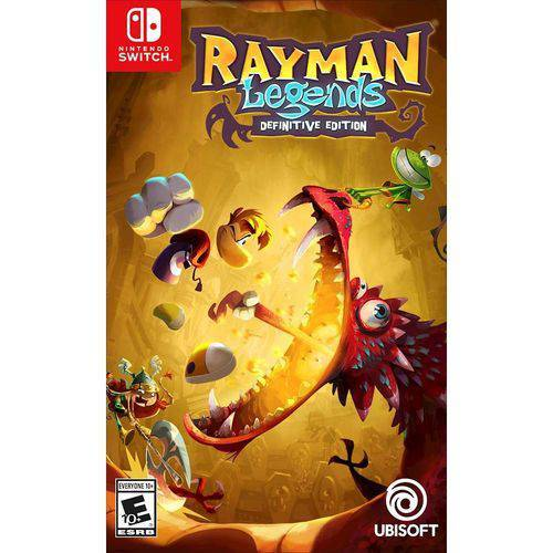 Rayman Legends Definitive Edition - Switch  - Atacado dos Jogos