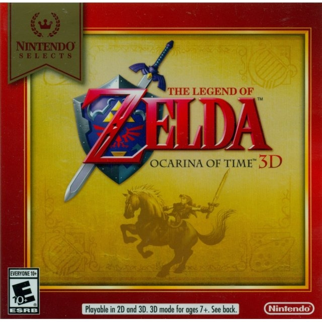 The Legend of Zelda: Ocarina of Time 3D - 3DS - Atacado dos Jogos