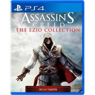 Assassins Creed: The Ezio Collection PS4 - Pacote 3 Jogos