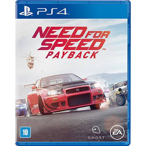 Need For Speed: Payback PS4 - Legendas Português - Atacado dos Jogos