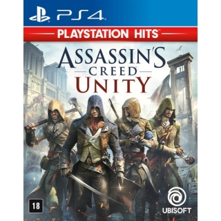 Assassins Creed Unity - PS4 - Dublado em Português