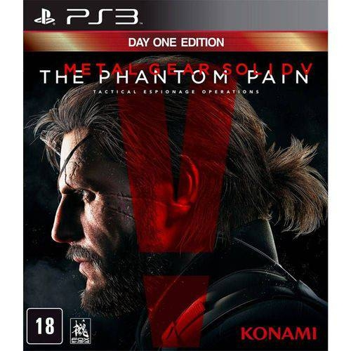 Metal Gear Solid V: The Phantom Pain - PS3 - Atacado dos Jogos