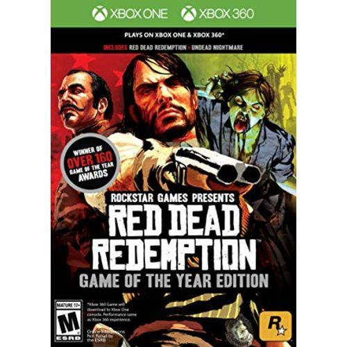 Red Dead Redemption Game of the Year - Xbox One / X360 - Atacado dos Jogos