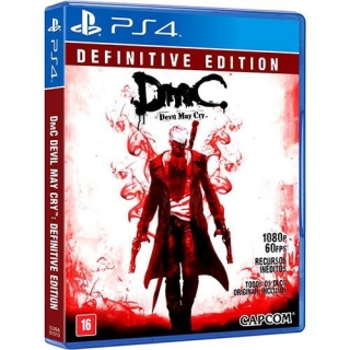DMC Devil May Cry: Definitive Edition + DLCs PS4 - Legendas Português