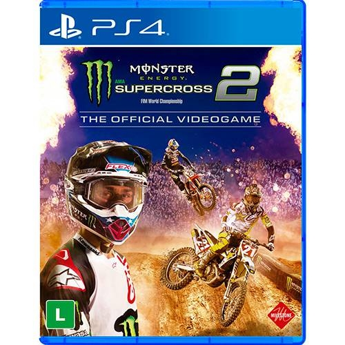 Monster Energy Supercross The Official Videogame - PS4 - Atacado dos Jogos