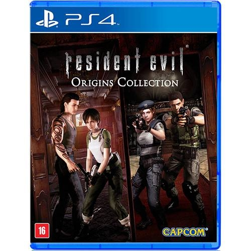 Resident Evil Origins Collection - PS4 - Atacado dos Jogos