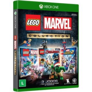 Lego Marvel Collection - Xbox One - Dublado em Português