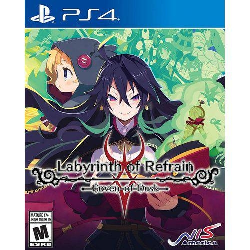 Labyrinth of Refrain Coven of Dusk - PS4 - Atacado dos Jogos