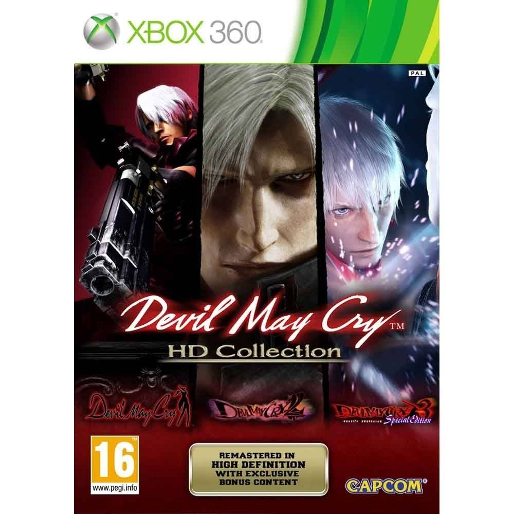 Devil May Cry HD Collection - Xbox 360 - Atacado dos Jogos