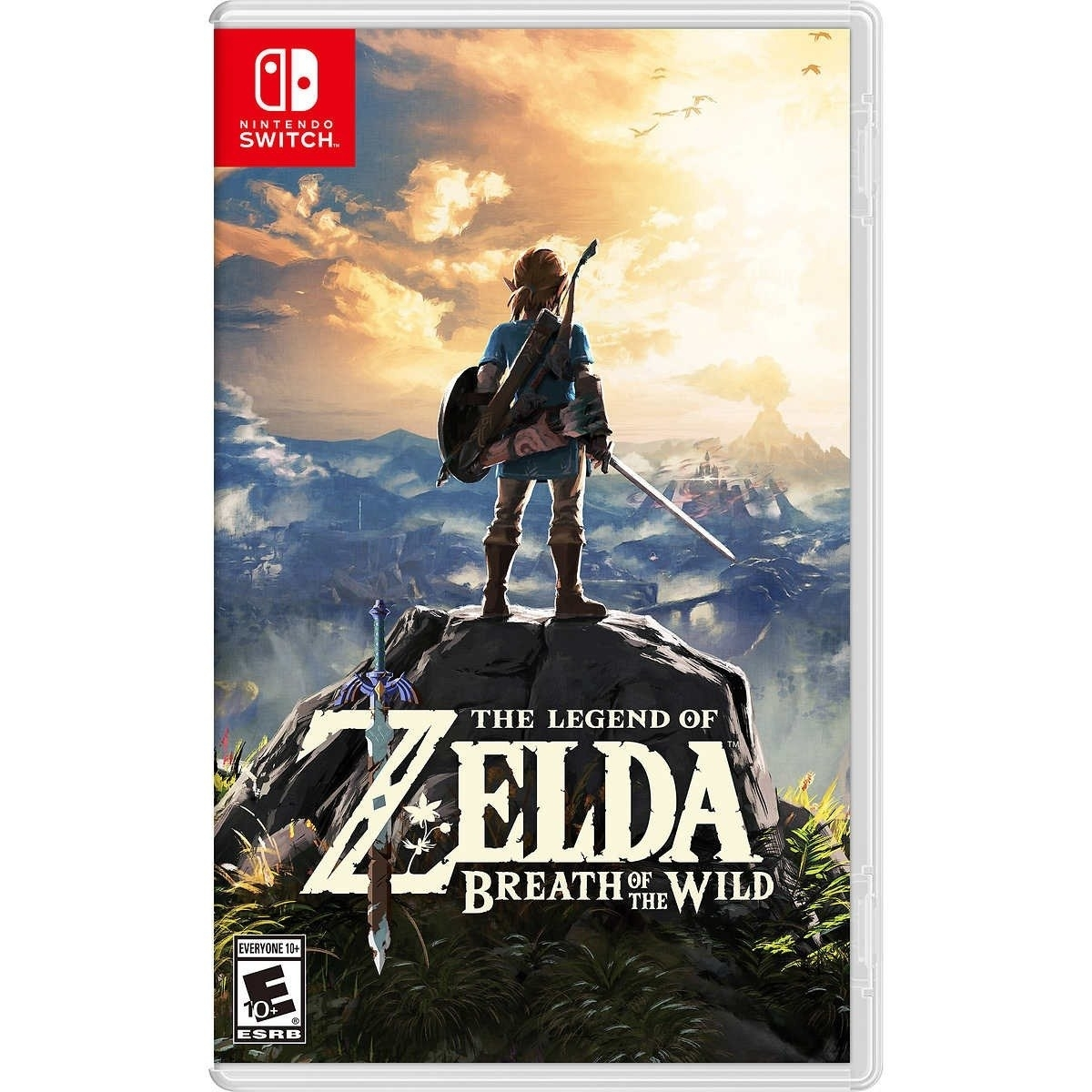 The Legend Of Zelda: Breath Of The Wild - Nintendo Switch - Atacado dos Jogos