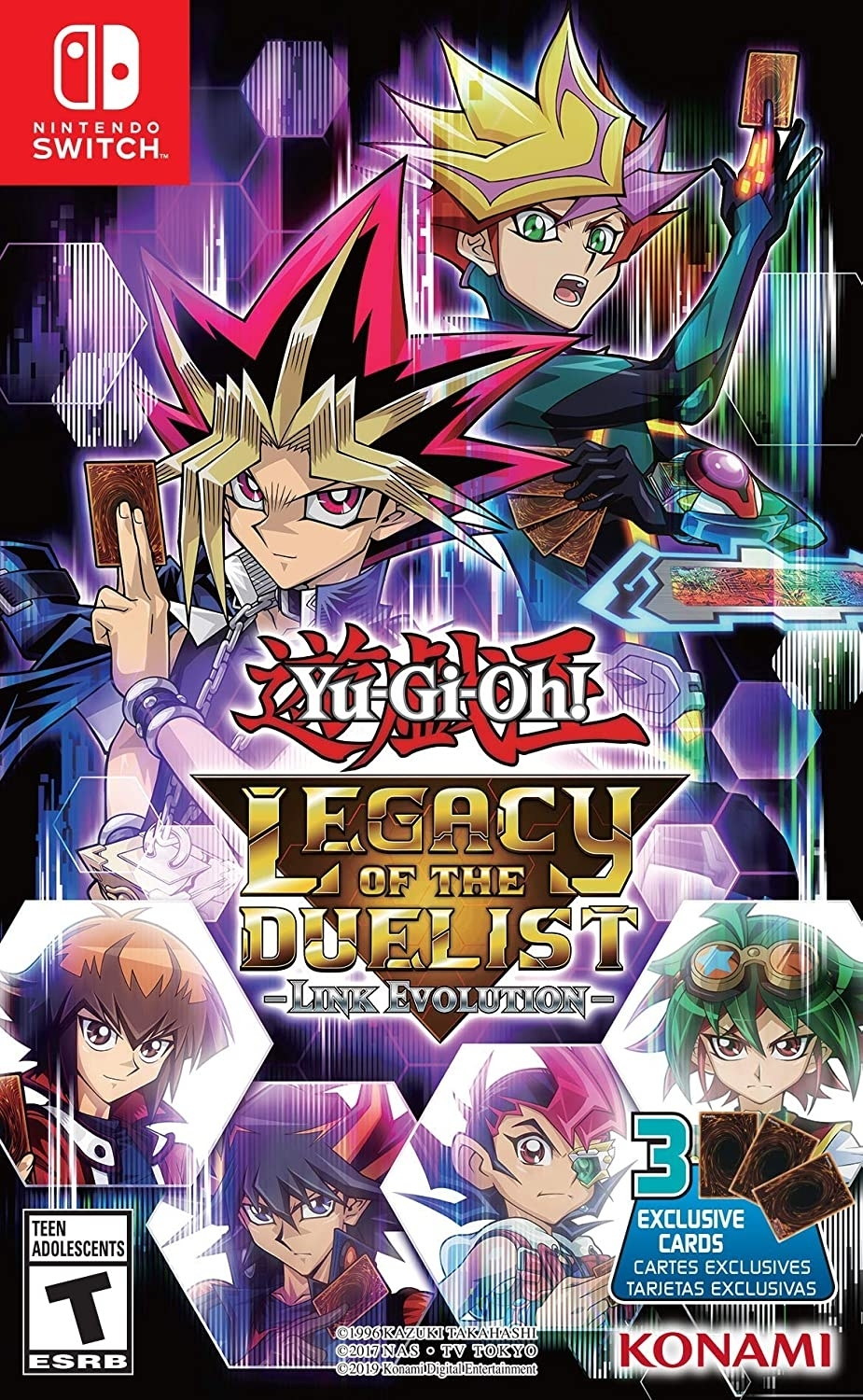 Yu-Gi-Oh! Legacy of the Duelist: Link Evolution + 3 Cards -  - Atacado dos Jogos