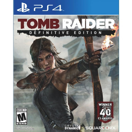Tomb Raider Definitive Edition - PS4 - Atacado dos Jogos