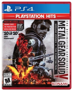 Jogo Metal Gear Solid V: Definitive Experience - PS4 (Legendas em Português)
