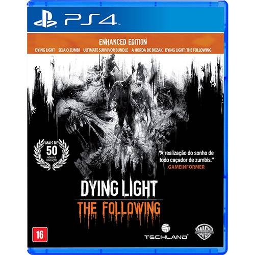 Dying Light: Enhanced Edition - PS4 - Atacado dos Jogos