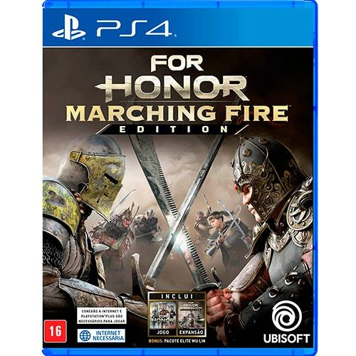 For Honor Marching Fire Edition - PS4 - Atacado dos Jogos