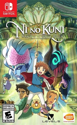 Ni no Kuni: Wrath of the White Witch - Switch - Atacado dos Jogos