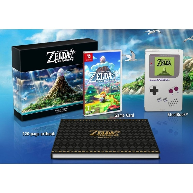 The Legend of Zelda: Link's Awakening Limited Edition - Swit - Atacado dos Jogos