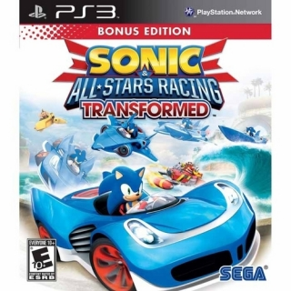 Sonic All-Stars Racing Transformed - PS3