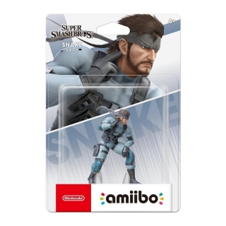 Nintendo Amiibo - Snake - Metal Gear Solid (Super Smash Bros. Collection)