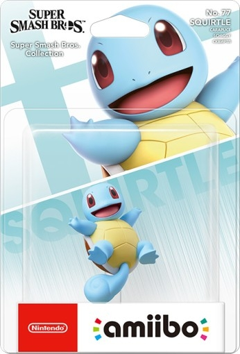 Nintendo Amiibo - Squirtle (Super Smash Bros. Collection) - Atacado dos Jogos