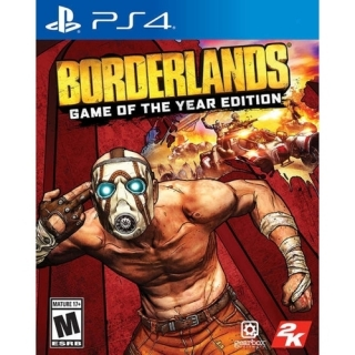 Jogo Borderlands Game Of The Year Edition - PS4