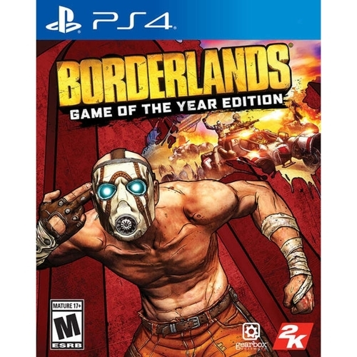 Borderlands Game Of The Year Edition - Ps4 - Atacado dos Jogos