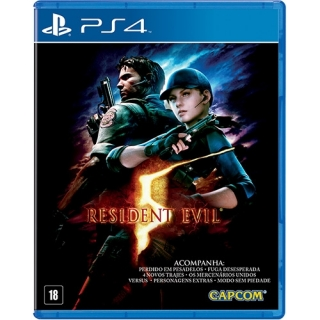 Resident Evil 5 + DLCs PS4 (Playstation 4)