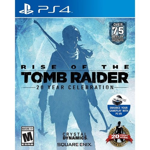 Rise Of The Tomb Raider: 20 Year Celebration - Jogo PS4 (Dub - Atacado dos Jogos
