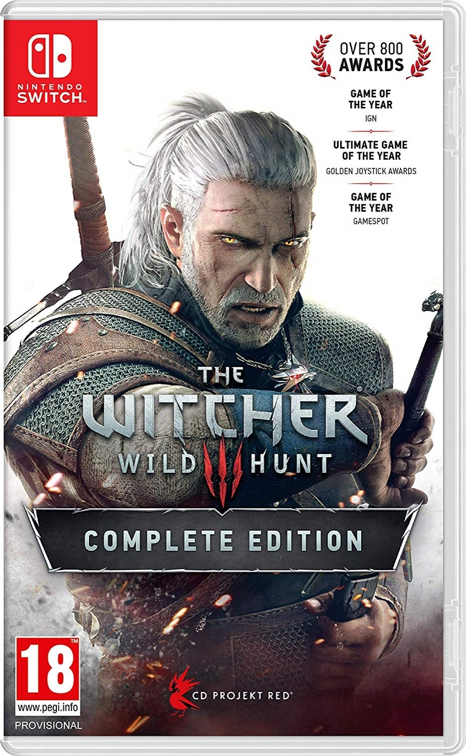 The Witcher 3 Wild Hunt Complete Edition - Switch - Atacado dos Jogos