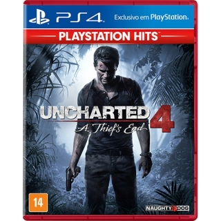 Uncharted 4 A Thiefs End Hits PS4 - Dublado em Português