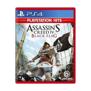 Assassins Creed IV 4: Black Flag - Jogo PS4 (Dublado em Português)