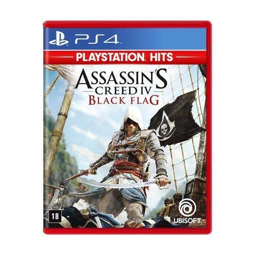 Assassins Creed IV 4: Black Flag - PS4 - Atacado dos Jogos
